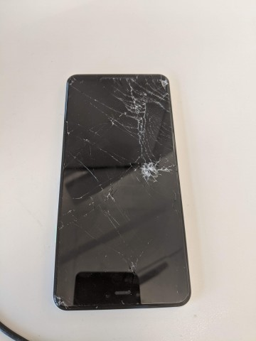 Picture of broken phone